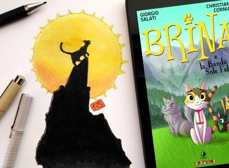 Recensione: Brina e la banda del sole felino di Giorgio Salati e Christian Cornia (Tunué)