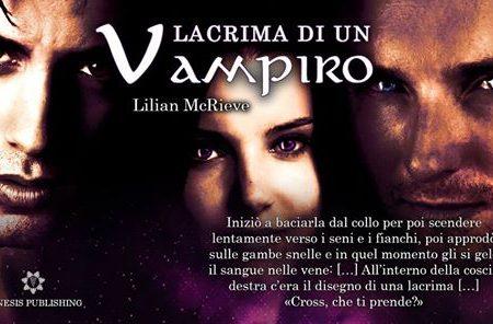Lacrima di un vampiro di Lilian McRieve | Recensione di Deborah