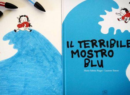 Recensione: Il terribile mostro blu di M. Roger e L. Simon (Edizioni Clichy)