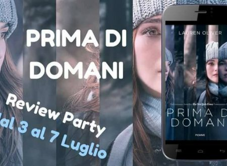 Review Party:  Prima di domani di Lauren Oliver