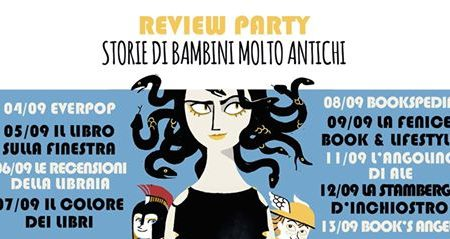 Review Party: Storie di bambini molto antichi di Laura Orvieto