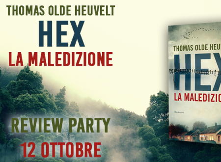 Review Party: Hex, la maledizione di Thomas Olde Heuvelt