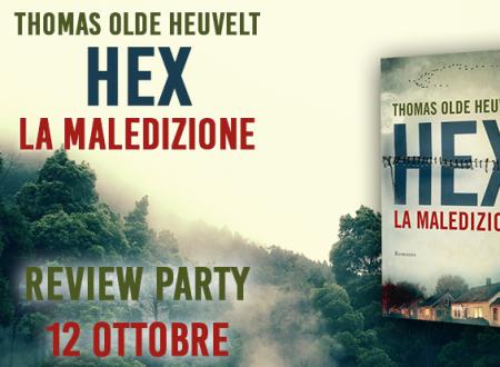 Review Party: Hex, la maledizione di Thomas Olde Heuvelt