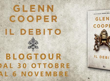 Blogtour: Il Debito di Glenn Cooper – Focus on: Cal Donovan