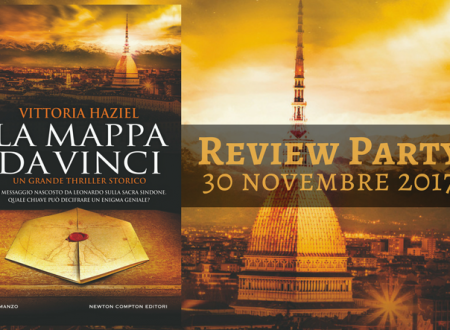 Review Party:  La mappa Da Vinci di Vittoria Haziel