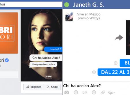 BLOGTOUR: Chi ha ucciso Alex? di Janeth G. S.  – Recensione