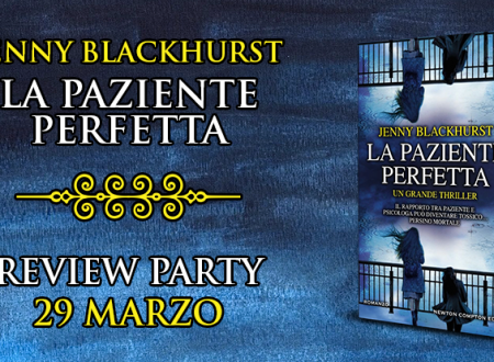 Review Party: La paziente perfetta di Jenny Blackhurst