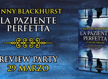 Review Party: La paziente perfetta di Jenny Blackhurst