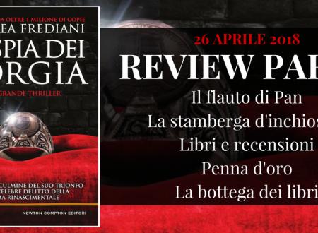 Review Party: La spia dei Borgia di Andrea Frediani