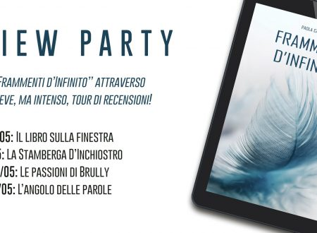 Review Party: Frammenti d'Infinito di Paola Catozza