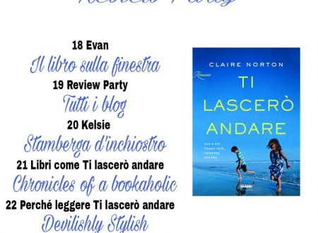 Review Party: Ti lascerò andare di Claire Norton