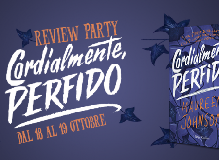 Review Party: Cordialmente, perfido di Maureen Johnson (HarperCollins)