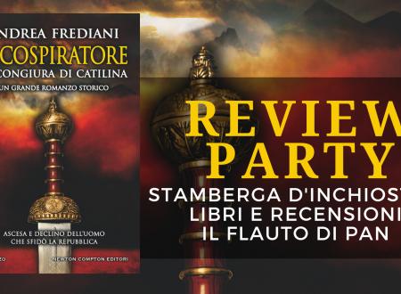 Review Party: Il cospiratore. La congiura di Catilina di Andrea Frediani
