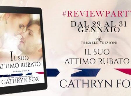 Review Party: Il suo attimo rubato di Cathryn Fox
