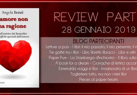 Review Party: L'amore non ha ragione di Angela Iezzi