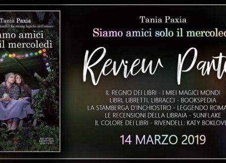Review Party: Siamo amici solo il mercoledì di Tania Paxia
