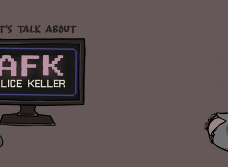 Let's talk about: AFK di Alice Keller (Camelozampa)