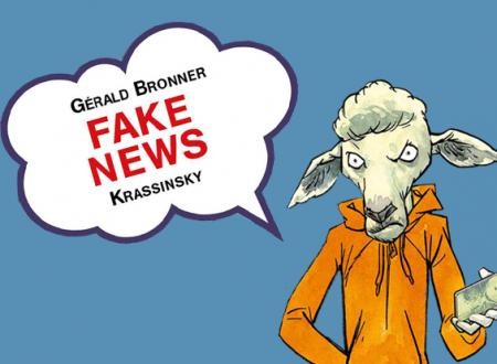 INK'S CORNER: Fake news di Gérald Bronner e Krassinsky