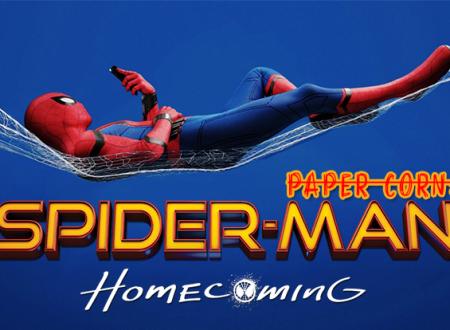 Paper Corn: Spider-Man. Homecoming di Jon Watts (2017)