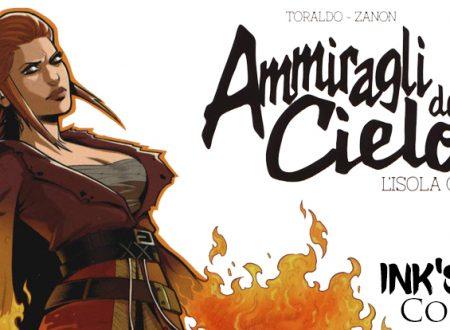 INK'S CORNER: Ammiragli del Cielo di Toraldo – Zanon (La Corte Comics)