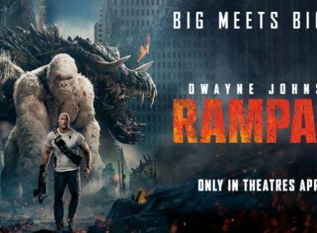 Paper corn: Rampage – Furia animale di Brad Peyton (2018)