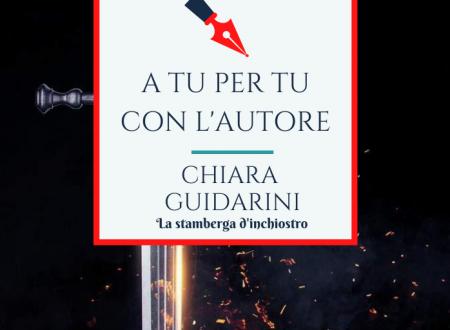 A tu per tu con Chiara Guidarini