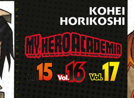 Inku Stories #56: My Hero Academia N° 15, 16 e 17 di Kohei Horikoshi
