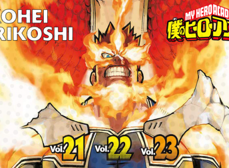Inku Stories #59: My Hero Academia N° 21, 22 e 23 di Kohei Horikoshi
