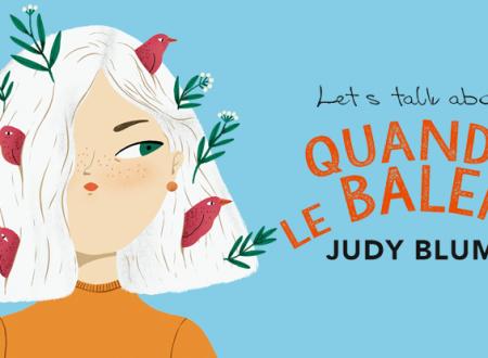 Let's talk about: Quando le balene di Judy Blume (DeA)